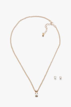 Koton Kadın Gümüş Bijuteri Kolye 7KAK79020AA 0