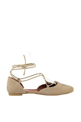 Fox Shoes Ten Kadın Babet B726047202 2