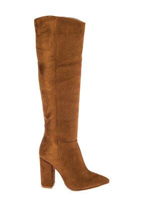 Fox Shoes Taba Kadın Çizme E922911502 1