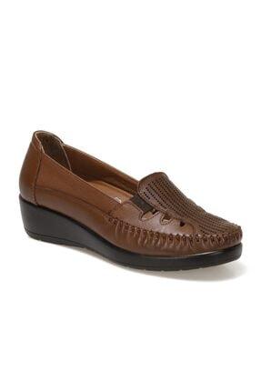103235.Z1FX Taba Kadın Klasik Ayakkabı 101002164 resmi