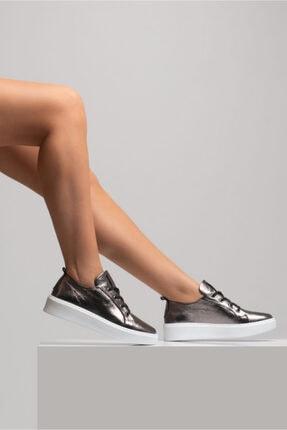 GRADA Kadın Deri Nikel Bağcıklı Deri Sneaker 0