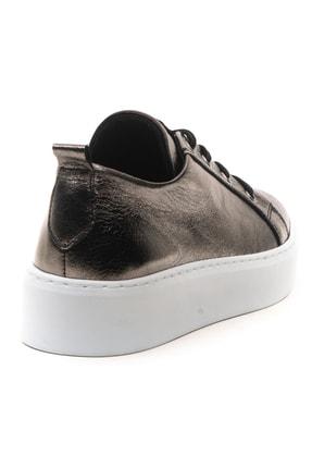 GRADA Kadın Deri Nikel Bağcıklı Deri Sneaker 4