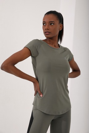 Tommy Life Çağla Kadın Sırt Pencereli Kısa Kol Standart Kalıp O Yaka T-shirt - 97101 2