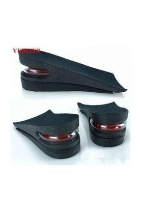 3M Ünisex 5 Cm Tam Boy Uzatıcı Tabanlık Hava Yastıklı Uzatan Ayakkabı Tabanlığı Gizli Topuk Yükselten 2