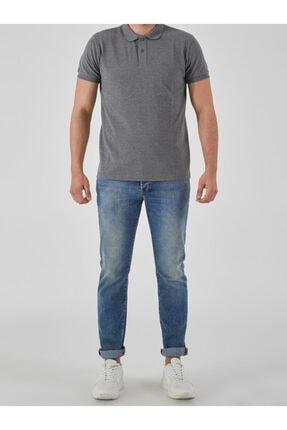 Ltb Erkek  Antrasıt Polo Yaka T-Shirt 012208450860890000 2