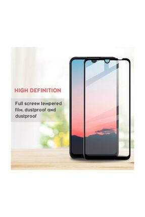 Sunix Xiaomi Redmi Note 8 Siyah 6d Kavisli Temperli Cam Ekran Koruyucu Film - Siyah 4