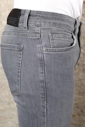 Collezione Collezıone Johen Slim Fit Gri Kot Pantolon 3