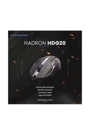 HADRON Hrg20 Mouse Kablolu Oyun Usb Ledli 1600 Dpı 2