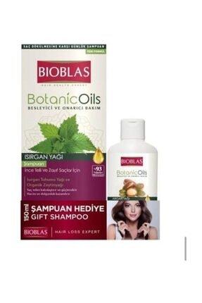 Bioblas Botanic Oils Isırgan Yağlı Şampuan 360 ml 0