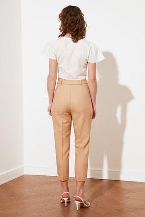 TRENDYOLMİLLA Taş Petite Kuşaklı Pantolon TWOSS21PL0522 4