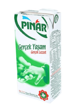 Pınar Tam Yağlı Süt 1 lt 1