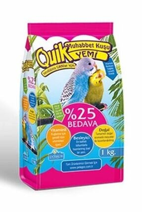 Quik Muhabbet Kuşu Yemi 750+250Gr Tekli 0