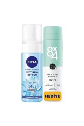 Nivea Canlandırıcı Yüz Yıkama Köpüğü Normal Cilt 150 ml+ 8x4 Deodorant Set 0