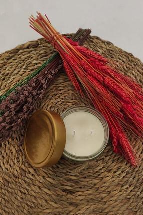 La Vie Candle La Vie Soya Wax Kavun Esans Naturel Kavanoz Mum 1