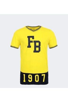 Picture of Erkek Sarı Lacivert Fenerbahçe Fb 1907 Tshırt
