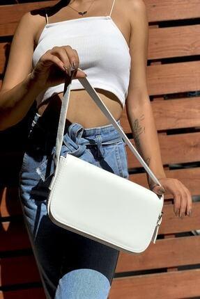 Westpolo Kadın Kapaklı Ve Mıknatıslı Baget Bella Çanta 2