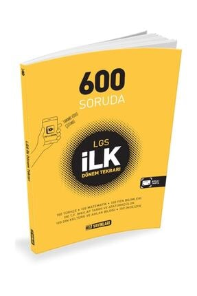 Hız Yayınları 8. Sınıf 600 Soruda Lgs 1. Dönem Tekrarı Yeni 2020 0