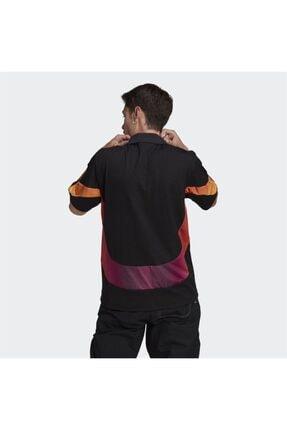 adidas Erkek Siyah Spor T-shirt 2