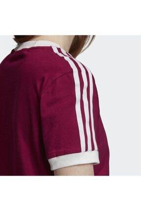 adidas Kadın Bordo Spor T-shirt 4