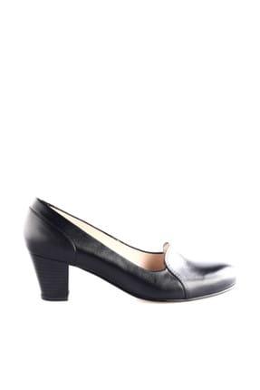 Dgn Siyah Kadın Klasik Topuklu Ayakkabı 258-148 1