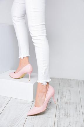Shoes Time Pudra Kadın Topuklu Ayakkabı 18Y 11905 3