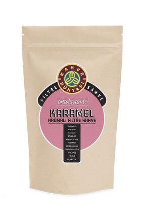 Kahve Dünyası Karamel Aromalı Filtre Kahve  Kağıt Filtre Çekim 250 gr 0