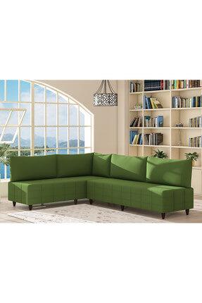 Evdemo Eda L Köşe Koltuk Takımı Yeşil 0