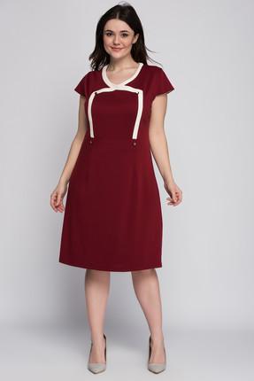 Kadın Bordo Elbise 1329 resmi