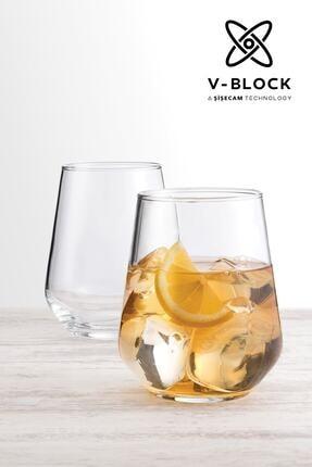Paşabahçe V-Block Antimikrobiyal Allegra 6'lı Su Bardağı 0
