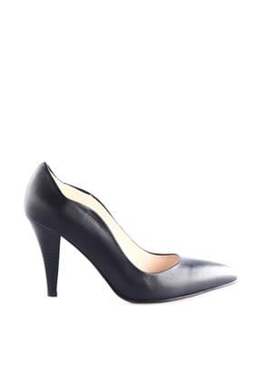 Dgn Siyah Kadın Klasik Topuklu Ayakkabı 290-148 1
