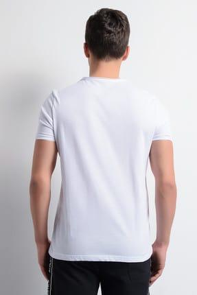 Rodi Jeans Erkek T-Shirt Pis Dikiş Bisiklet Yaka Basic 2