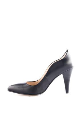 Dgn Siyah Kadın Klasik Topuklu Ayakkabı 290-148 2