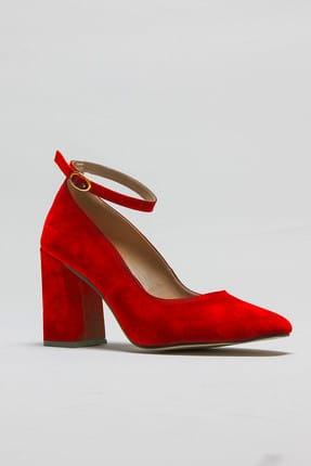 Rovigo Kırmızı Kadın Topuklu Ayakkabı 11112014189-2-03 1