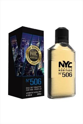 NYC Park Avenue Vip Reserve No: 506 Edt 100 ml Erkek Parfümü 875990005065 0