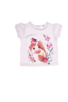 Açık Pembe Kız Bebek T-Shirt resmi