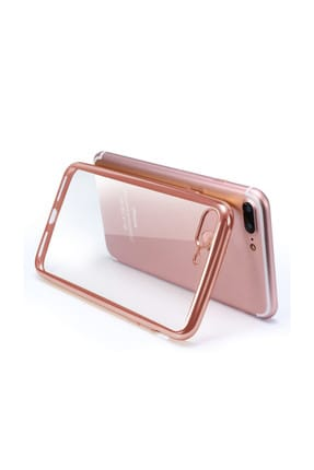 Microsonic Apple iPhone 8 Plus Kılıf Flexi Delux Gümüş 2