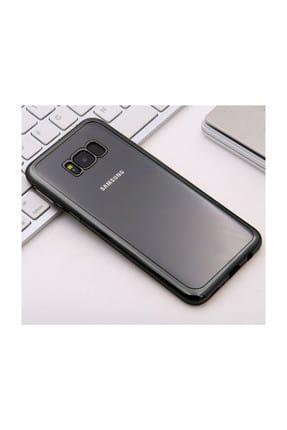 Microsonic Samsung Galaxy S8 Plus Kılıf Flexi Delux Siyah 1