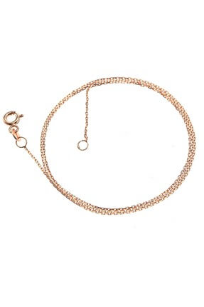 Söğütlü Silver Kadın Rose ;Kolye Zinciri SGTL6360 0