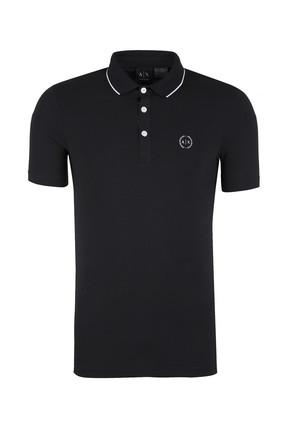 Armani Exchange Siyah Erkek T-Shirt 8Nzf70 Z8M9Z 1200 0