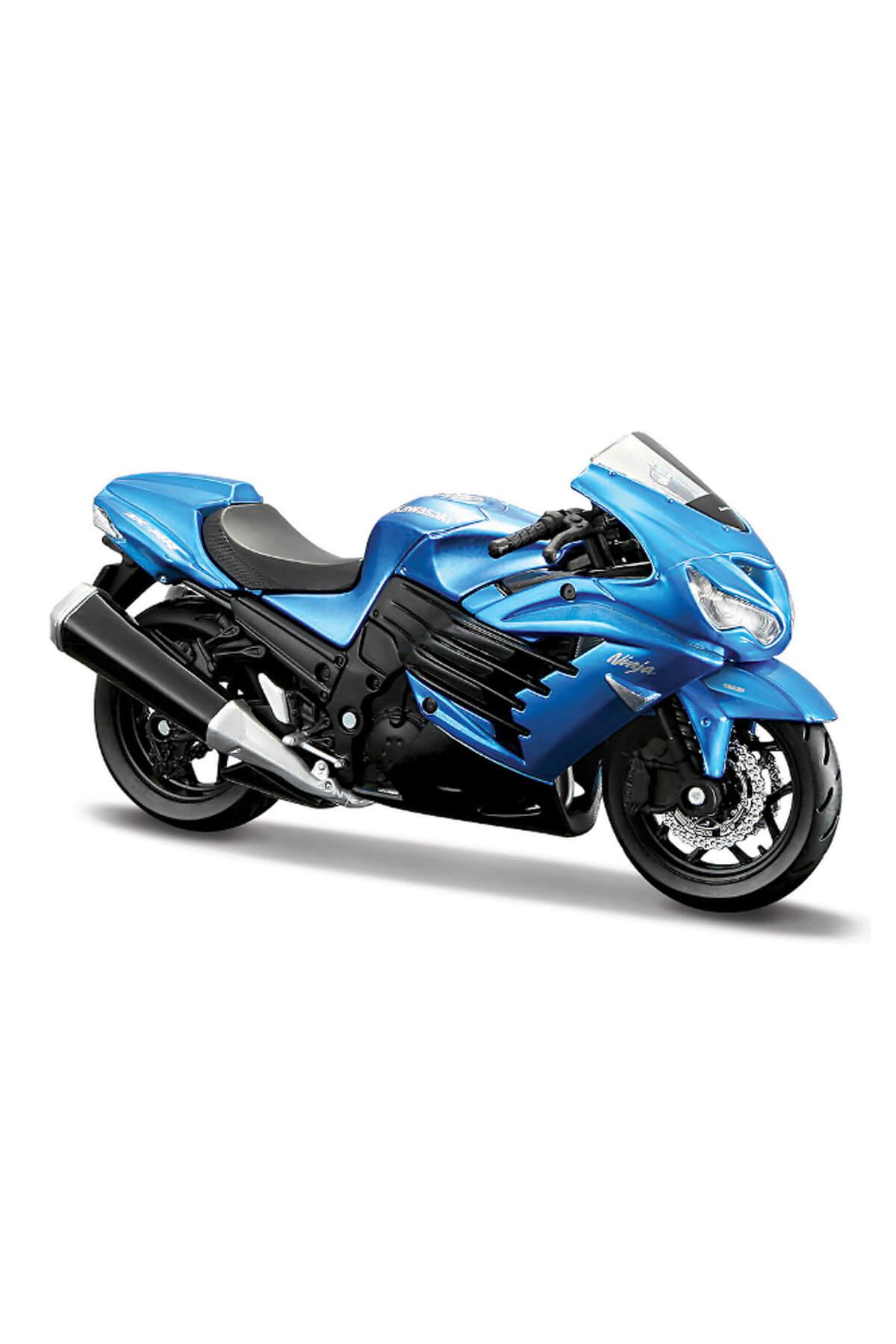 Kawasaki Ninja Zx-14R1:18 Model Motorsiklet /