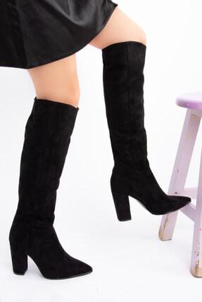 Fox Siyah Kadın Çizme E922911502 0