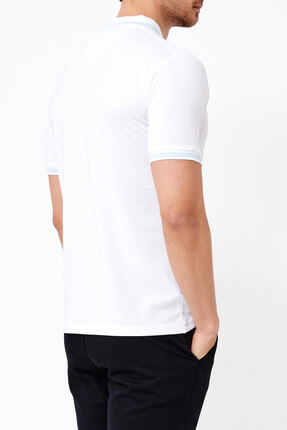 Adze Basic Düz Polo T-Shirt-33998 2
