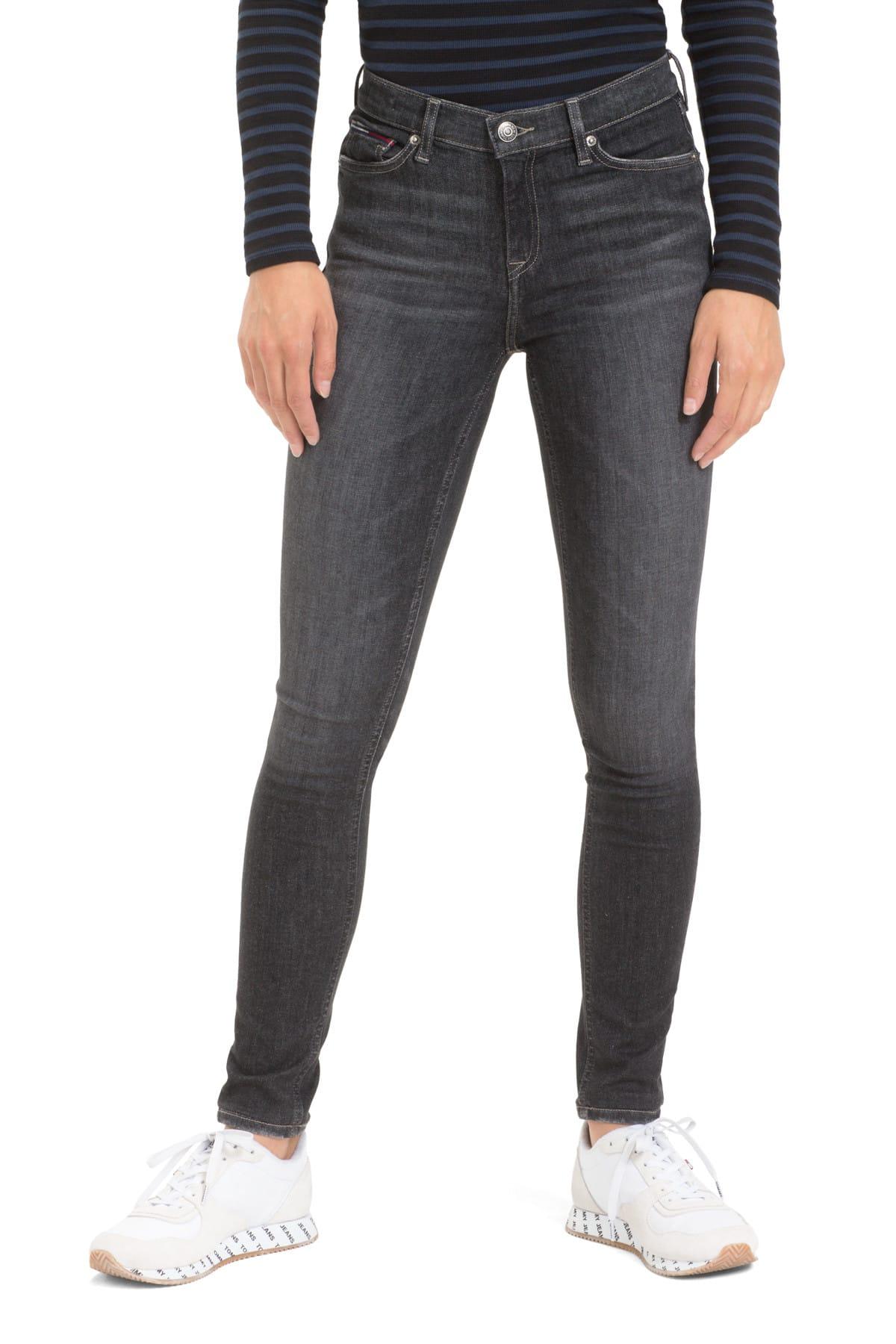 Kadın Denim Jeans Mıd Rıse Skınny Nora Skyg DW0DW05530