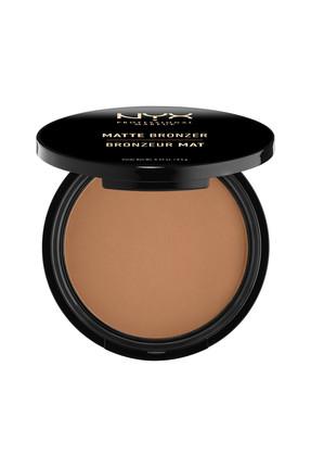 NYX Professional Makeup Mat Bronzer Koyu Ton - Matte Bronzer Deep Tan 59 g 800897809096 1