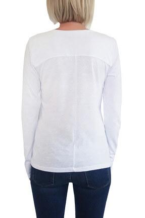 Mof Basics Kadın Beyaz T-Shirt UKSYT-B 1