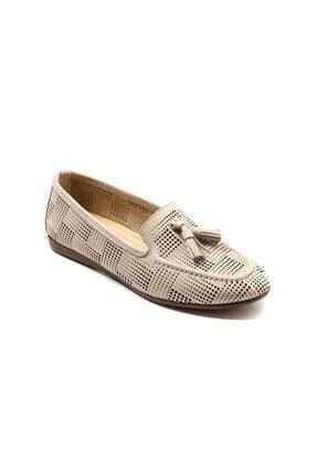 Kadın Oxford/ayakkabı Mf-1395 Vizon 1DRDW2021017
