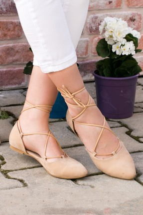 Fox Shoes Ten Kadın Babet B726047202 1