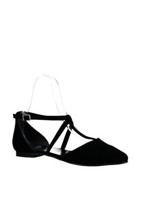 Fox Shoes Siyah Kadın Ayakkabı D726537302 2