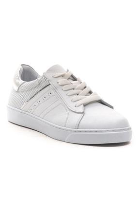 GRADA Hakiki Deri  Ince Taban Günlük Sneaker Ayakkabı 2