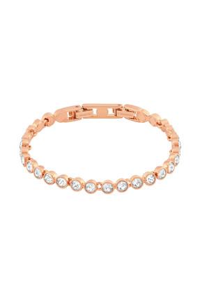 Swarovski Kadın Bilezik Tennis:Bracelet Cry/Ros M 5039938 0